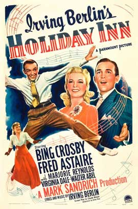 Holiday Inn - 27 x 40 Movie Poster - Style C