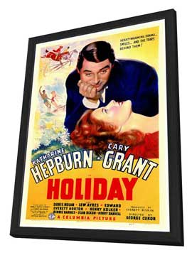 Holiday - 27 x 40 Movie Poster - Style A - in Deluxe Wood Frame