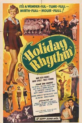 Holiday Rhythm - 11 x 17 Movie Poster - Style A