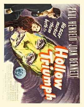 Hollow Triumph - 11 x 17 Movie Poster - Style C