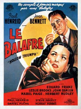Hollow Triumph - 11 x 17 Movie Poster - French Style A