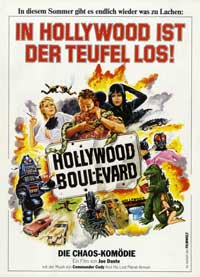 Hollywood Boulevard - 11 x 17 Movie Poster - German Style A