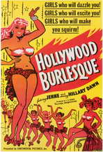 Hollywood Burlesque - 27 x 40 Movie Poster - Style A