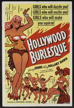 Hollywood Burlesque - 27 x 40 Movie Poster - Style B