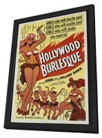 Hollywood Burlesque - 27 x 40 Movie Poster - Style B - in Deluxe Wood Frame