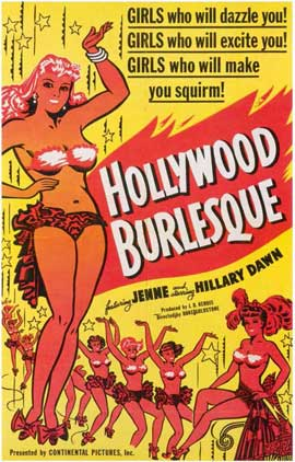 Hollywood Burlesque - 11 x 17 Movie Poster - Style A