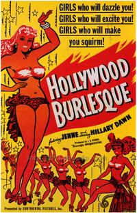 Hollywood Burlesque - 43 x 62 Movie Poster - Bus Shelter Style A