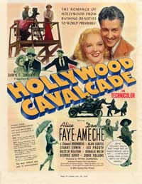 Hollywood Cavalcade - 11 x 17 Movie Poster - Style C