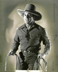 Hollywood Cowboy - 8 x 10 B&W Photo #2