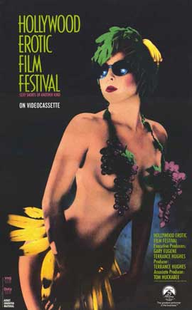 Hollywood Erotic Film Festival - 11 x 17 Movie Poster - Style A
