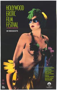 Hollywood Erotic Film Festival - 43 x 62 Movie Poster - Bus Shelter Style A