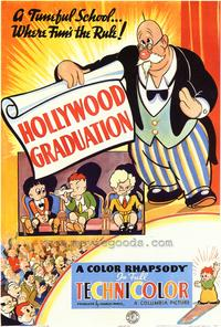 Hollywood Graduation - 43 x 62 Movie Poster - Bus Shelter Style A