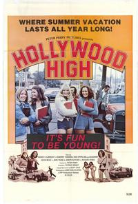 Hollywood High - 11 x 17 Movie Poster - Style A