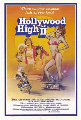 Hollywood High, Part 2 - 27 x 40 Movie Poster - Style A