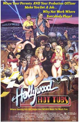 Hollywood Hot Tubs - 11 x 17 Movie Poster - Style A