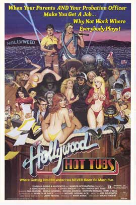 Hollywood Hot Tubs - 27 x 40 Movie Poster - Style A