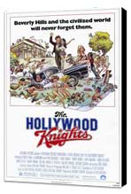 The Hollywood Knights - 27 x 40 Movie Poster - Style B - Museum Wrapped Canvas