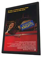 The Hollywood Knights - 11 x 17 Movie Poster - Style A - in Deluxe Wood Frame