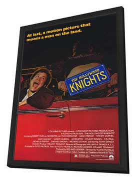 The Hollywood Knights - 27 x 40 Movie Poster - Style A - in Deluxe Wood Frame
