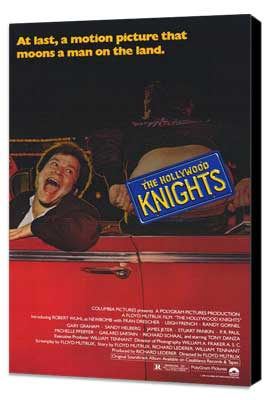 The Hollywood Knights - 27 x 40 Movie Poster - Style A - Museum Wrapped Canvas