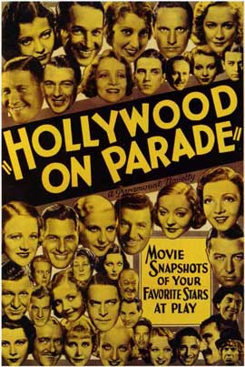 Hollywood on Parade - 11 x 17 Movie Poster - Style A