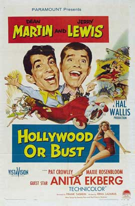 Hollywood or Bust - 11 x 17 Movie Poster - Style A