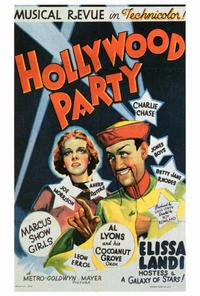 Hollywood Party - 27 x 40 Movie Poster - Style A