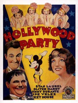 Hollywood Party - 11 x 17 Movie Poster - Style B