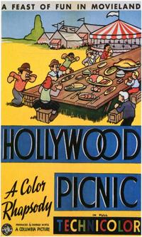Hollywood Picnic - 11 x 17 Movie Poster - Style A