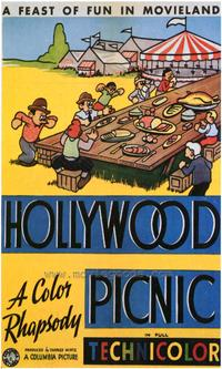 Hollywood Picnic - 43 x 62 Movie Poster - Bus Shelter Style A