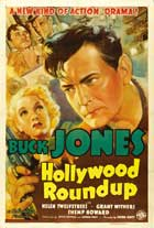 Hollywood Round-Up - 11 x 17 Movie Poster - Style A