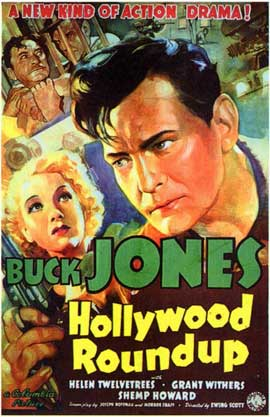 Hollywood Roundup - 11 x 17 Movie Poster - Style A