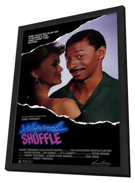Hollywood Shuffle - 11 x 17 Movie Poster - Style A - in Deluxe Wood Frame