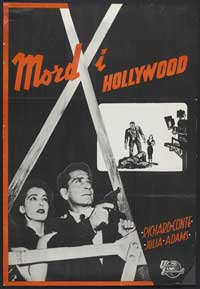Hollywood Story - 11 x 17 Movie Poster - Swedish Style A