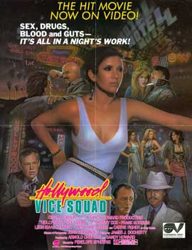 Hollywood Vice Squad - 27 x 40 Movie Poster - Style C