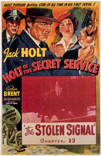Holt of the Secret Service - 11 x 17 Movie Poster - Style A