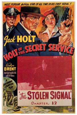 Holt of the Secret Service - 27 x 40 Movie Poster - Style A
