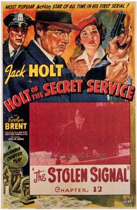 Holt of the Secret Service - 43 x 62 Movie Poster - Bus Shelter Style A