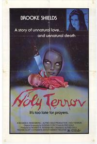 Holy Terror - 11 x 17 Movie Poster - Style A