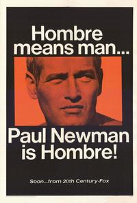 Hombre - 27 x 40 Movie Poster - Style A