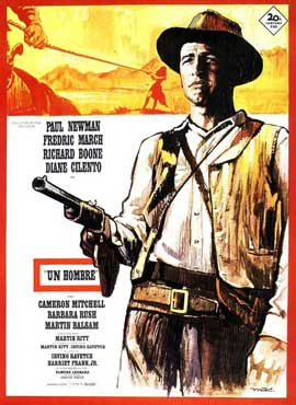 Hombre - 11 x 17 Movie Poster - Spanish Style A