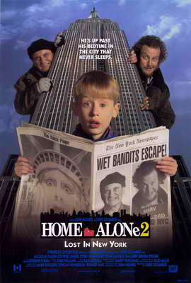 Home Alone 2: Lost in New York - 27 x 40 Movie Poster - Style A