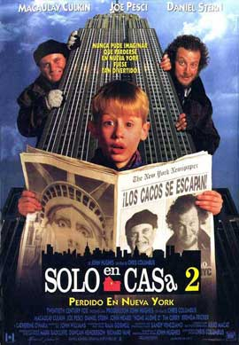 Home Alone 2: Lost in New York - 27 x 40 Movie Poster - Spanish Style A