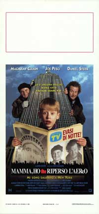 Home Alone 2: Lost in New York - 13 x 28 Movie Poster - Italian Style A