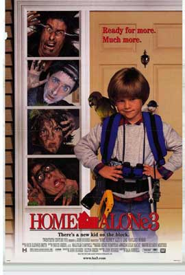 Home Alone 3 - 27 x 40 Movie Poster - Style D