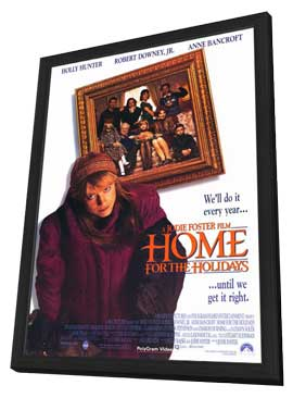 Home for the Holidays - 11 x 17 Movie Poster - Style B - in Deluxe Wood Frame