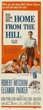 Home from the Hill - 14 x 36 Movie Poster - Insert Style A