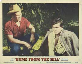 Home from the Hill - 11 x 14 Movie Poster - Style B