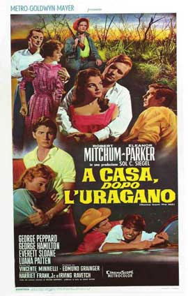Home from the Hill - 11 x 17 Movie Poster - Italian Style A