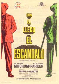 Home from the Hill - 27 x 40 Movie Poster - Spanish Style A